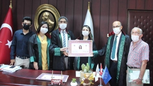 Adana Barosu'na 10 avukat daha katıldı