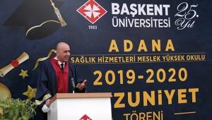 Adana Sağlık Hizmetleri MYO'da mezuniyet çoşkusu
