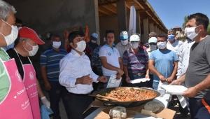 Başkan Ergü'den personele teşekkür yemeği