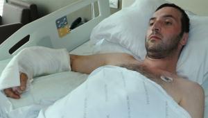 İş kazasında kopan kolu 12.5 saatte dikildi