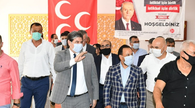 MHP Adana'da 6 ilçede kongre yaptı