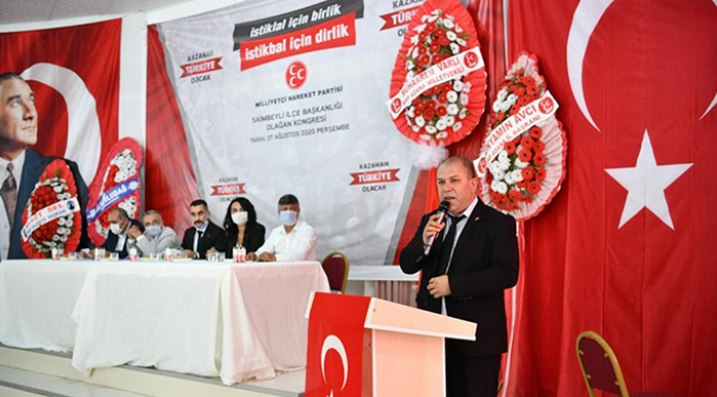 MHP Saimbeyli'de Esentürk güven tazeledi