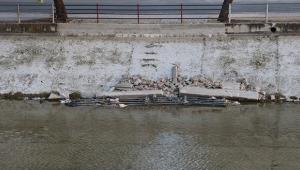 Sulama kanalı çöplüğe döndü