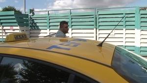 Taksideki yolcuya ceza..