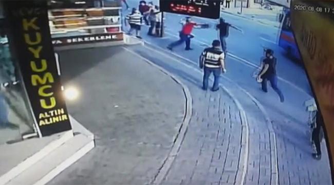 Vatandaşlar seferber oldu kapkaççı yakalandı