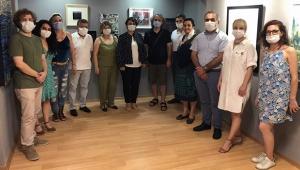 40 sanatçı karma sergide buluştu