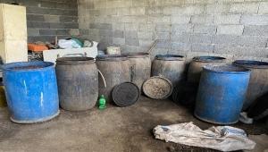 Adana'da 2 bin 280 litre kaçak içki ele geçirildi
