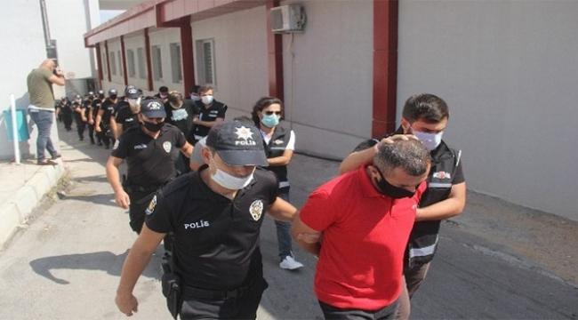 Adana'da suç örgütüne operasyon...