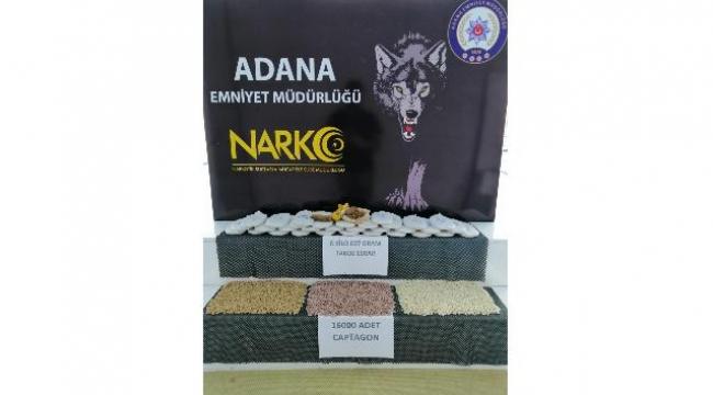 Adana'daki 6 kilo esrar ele geçirildi
