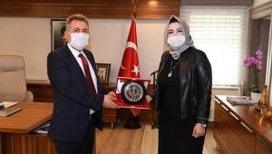 ASLAN VALİ ELBAN'I ZİYARET ETTİ