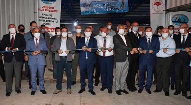 Balık Karataş'tan Alınır' Projesi Tesisleri açıldı