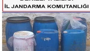 Bin 300 litre kaçak içki ele geçirildi