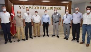 EMEKLİLERDEN KOCAİSPİR'E ZİYARET