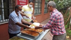 İhtiyaç sahiplerine yemek dağıtıldı