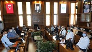 KA-VAK üyeleri Rektör Prof. Dr. Tuncel'i ziyaret etti