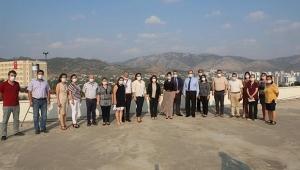 Rektör Prof. Dr. Tuncel, Ceyhan ve Kozan kampüslerini ziyaret etti