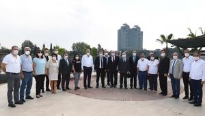 Vali Elban, ÇGC Ziyaretinin Gündemine Turizmi Koydu