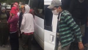 14 kişilik minibüse 37 kişi bindiler