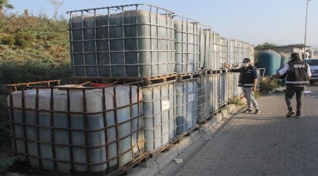 20 ton kaçak akaryakıt ele geçirildi
