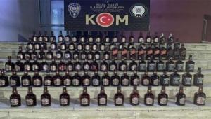 Adana'da 540 paket kaçak sigara, 192 şişe kaçak içki ele geçirildi