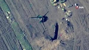 Azerbaycan ordusu Ermenistan ordusuna ait hedefleri vurdu