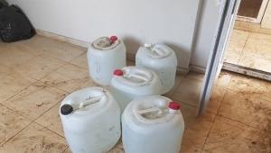 Bin 400 litre sahte içki ele geçirildi