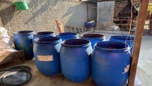 Bin 600 litre sahte içki ele geçirildi