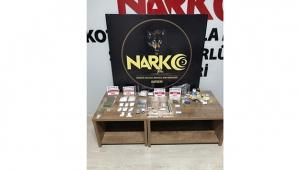 Çeşitli miktarda uyuşturucu ele geçirildi