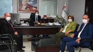 ÇGC'den Vergi Dairesi Başkanı Güner'e ziyaret