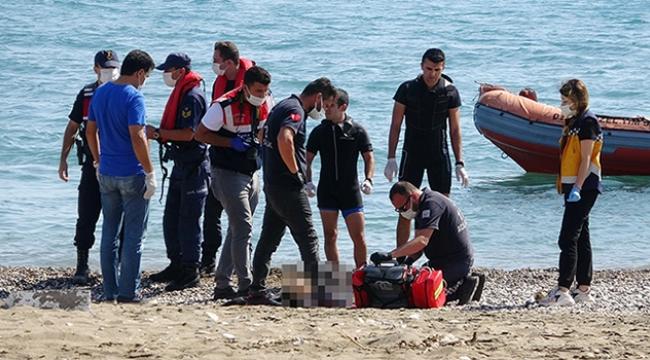 Denizde kadın cesedi bulundu