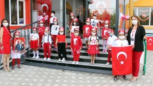 Erkan'da Cumhuriyet coşkusu