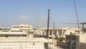 Esad rejimi İdlib'in kırsalını hedef aldı