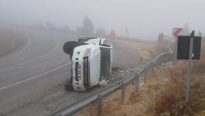 Görüş mesafesi düştü kaza kaçınılmaz oldu