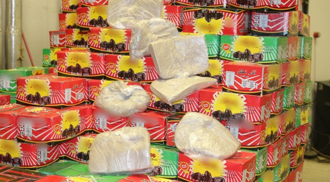 Gümrükte 50 kilo 150 gram eroin ele geçirildi