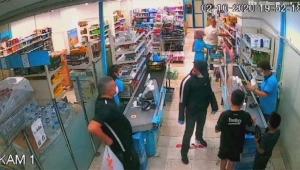 Market soydu, polisten kaçamadı
