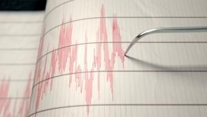 O ilde 4.3 büyüklüğünde deprem