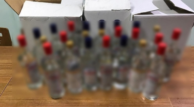 Sahte alkol operasyonları sürüyor...