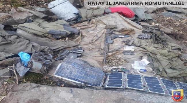 Terör örgütüne ait M-16 piyade tüfeği ele geçirildi
