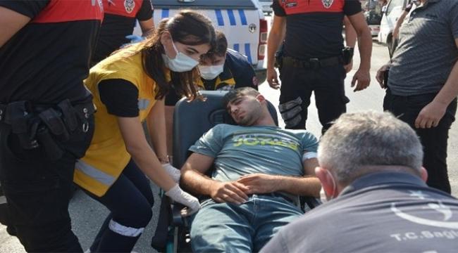 Uyuşturucu kullanıp kendinden geçti polis tarafından kurtarıldı
