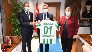 Vali Elban Ceyhan'da incelemelerde bulundu