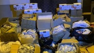 42 bin 179 kaçak ürüne el konuldu