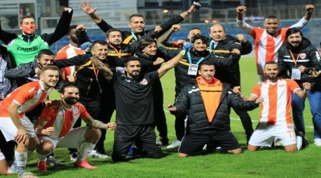 Adanaspor: 2 - Sakaryaspor: 2