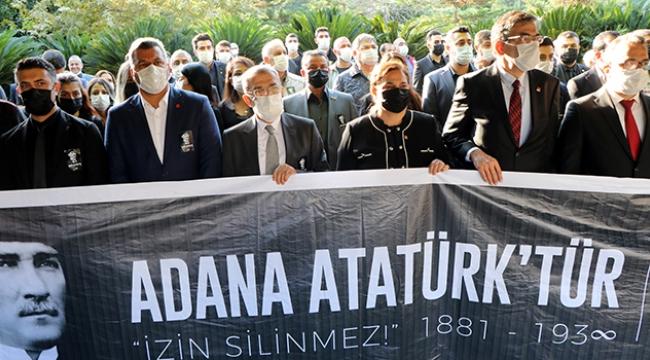 CHP ATATÜRK'Ü ANDI