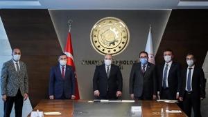 Kozan'ın kalkınması  için Ankara'dalar