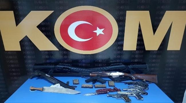 Silah ve mühimmat kaçakçılarına operasyon
