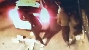 Acemi hırsızlar kameralara yakalandı...