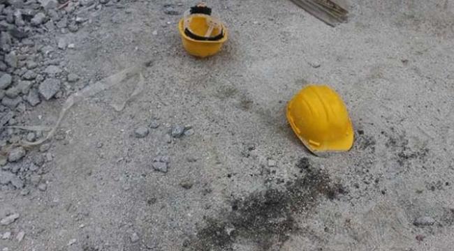 İnşaatta çalışan işçi yüksekten düştü