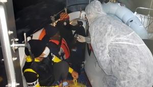 Türk Sahil Güvenlik ekipleri düzensiz göçmenleri kurtardı