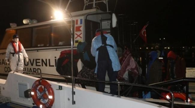 38 göçmen kurtarıldı