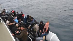31 göçmen kurtarıldı